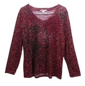 New COLDWATER CREEK Long Sleeve T-Shirt XL